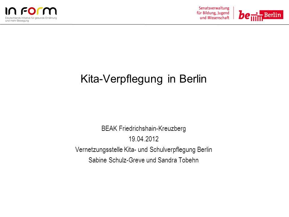 Kita-Verpflegung in Berlin