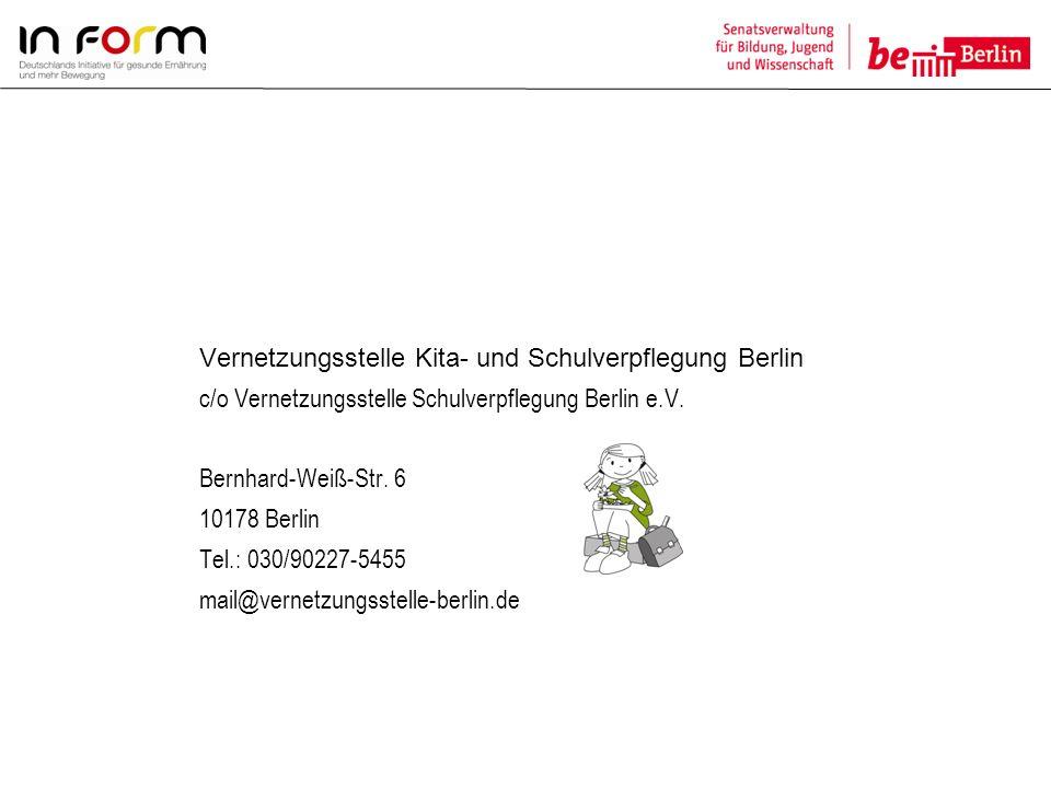 Vernetzungsstelle Kita- und Schulverpflegung Berlin