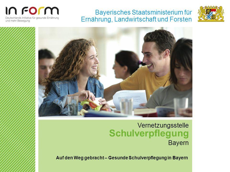 Schulverpflegung Bayerisches Staatsministerium für