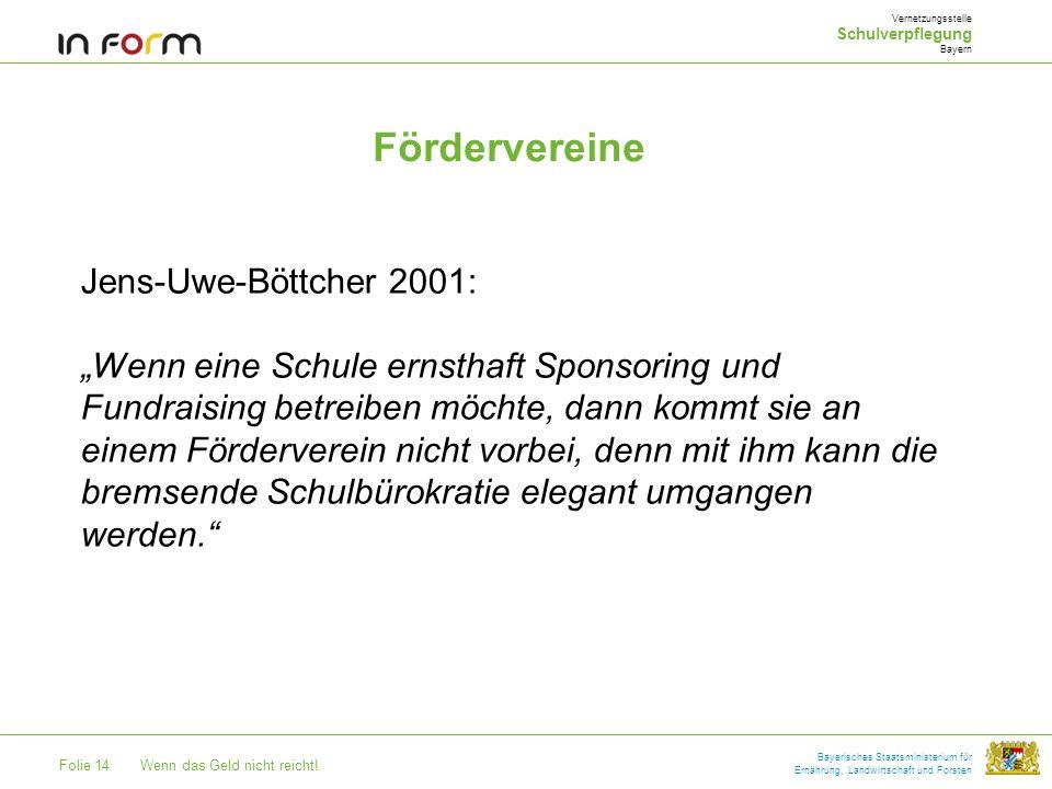 Fördervereine Jens-Uwe-Böttcher 2001: