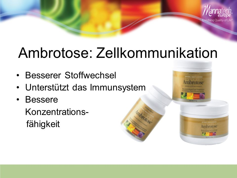 Ambrotose: Zellkommunikation