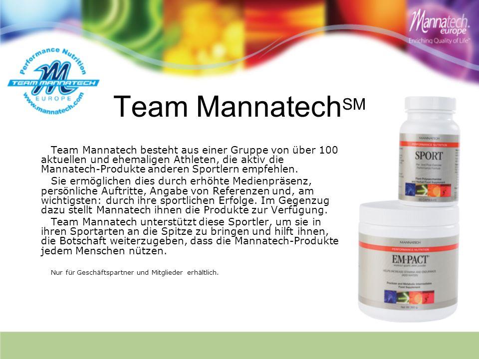 Team MannatechSM