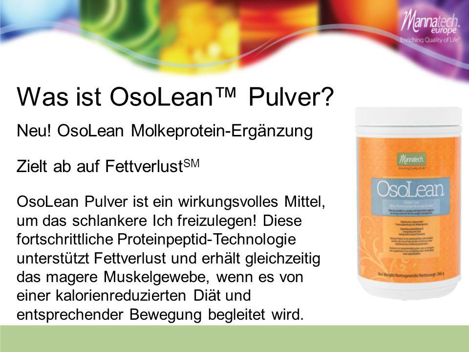 Was ist OsoLean™ Pulver
