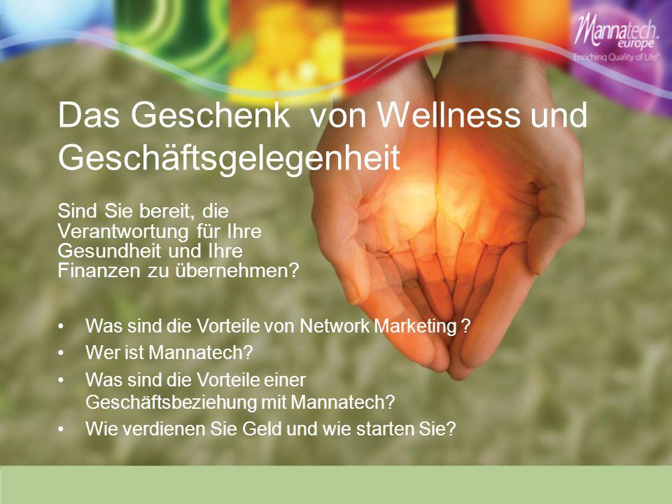 Das Geschenk von Wellness und Geschäftsgelegenheit
