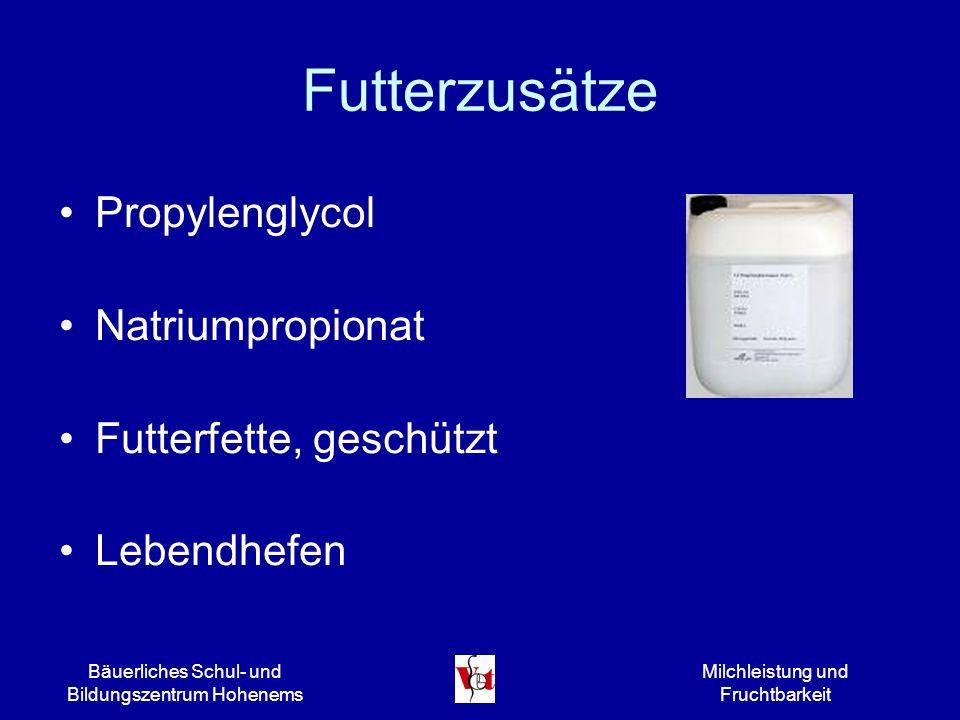 Futterzusätze Propylenglycol Natriumpropionat Futterfette, geschützt