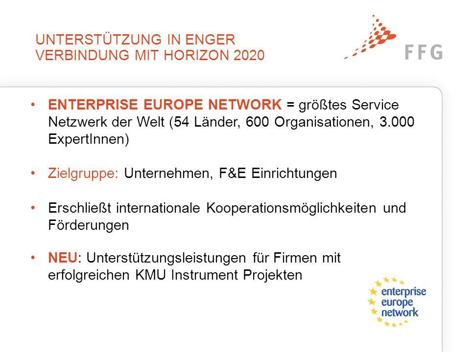 Das Enterprise Europe Network in Österreich