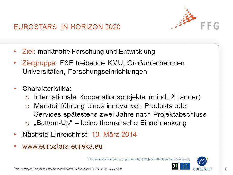 EUREKA – Grenzüberschreitende F&E Kooperationen
