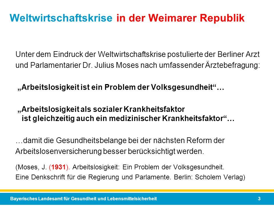 Weltwirtschaftskrise in der Weimarer Republik