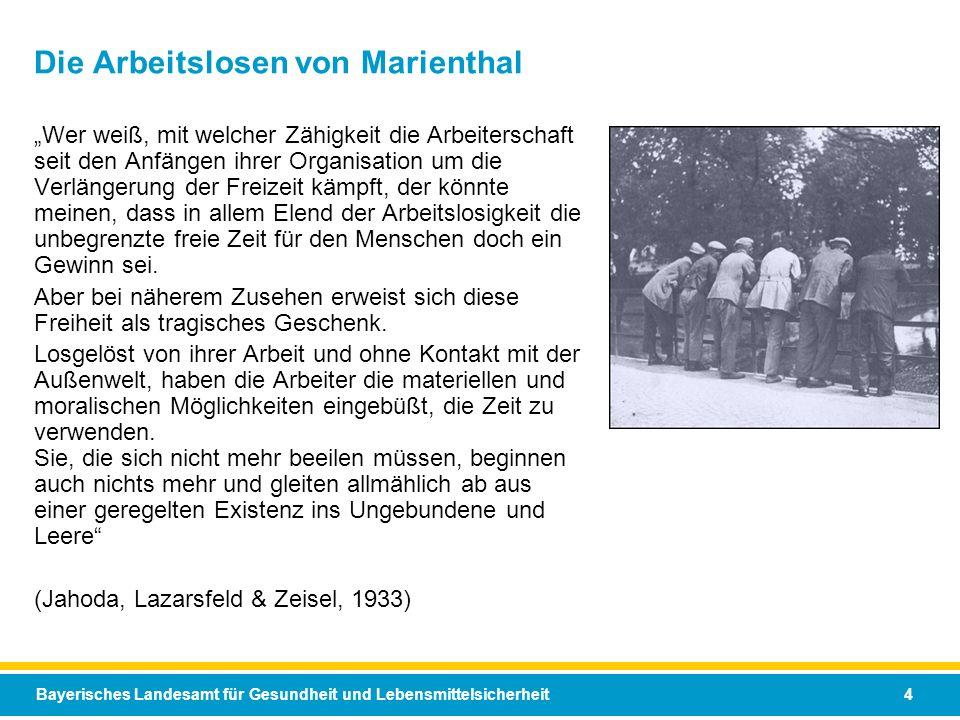 Die Arbeitslosen von Marienthal