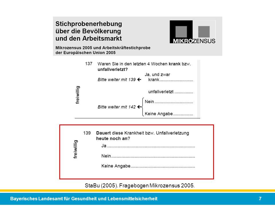 StaBu (2005). Fragebogen Mikrozensus 2005.