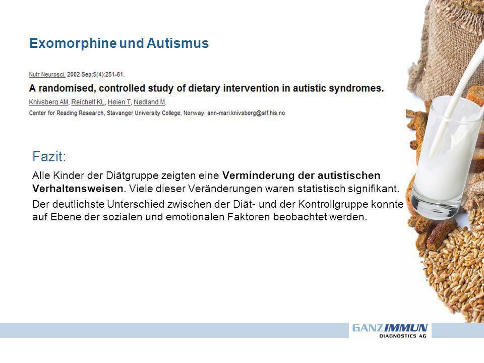 Exomorphine und Autismus