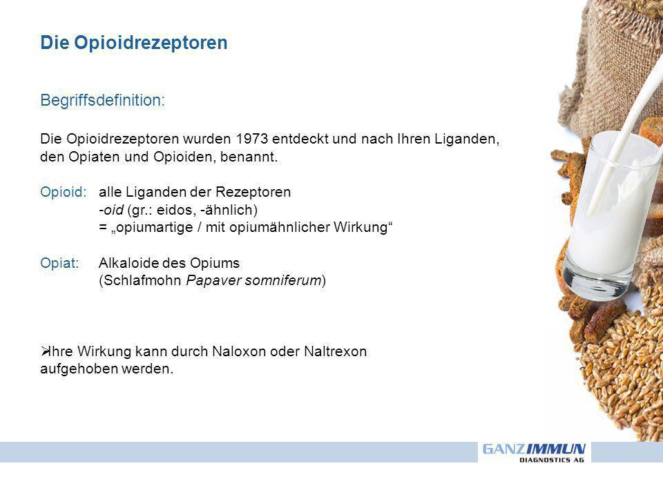 Die Opioidrezeptoren Begriffsdefinition: