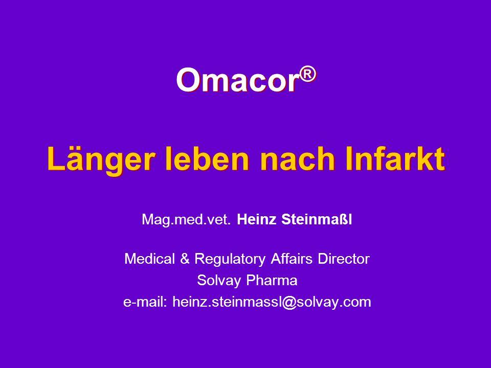 Omacor® Länger leben nach Infarkt