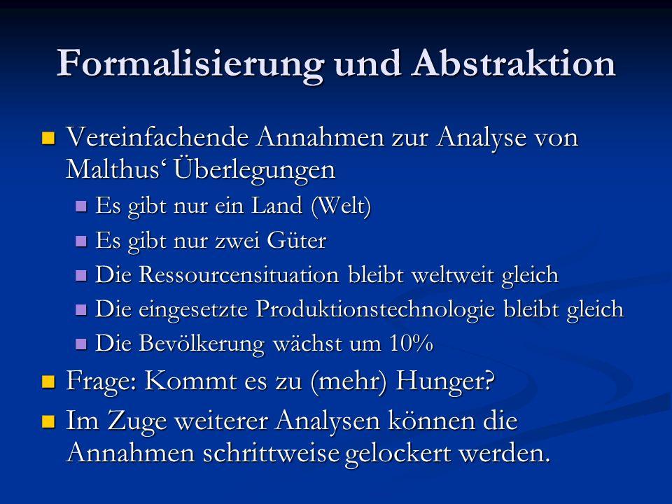 Formalisierung und Abstraktion
