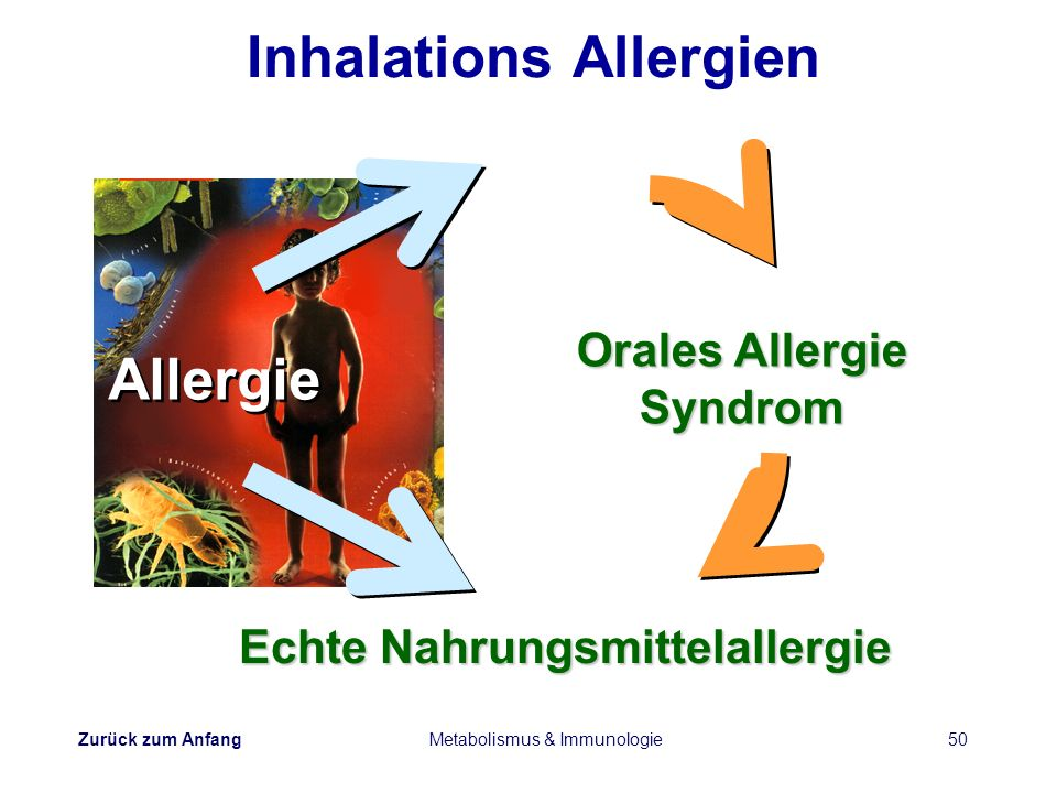 Inhalations Allergien