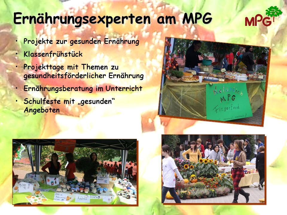 Ernährungsexperten am MPG