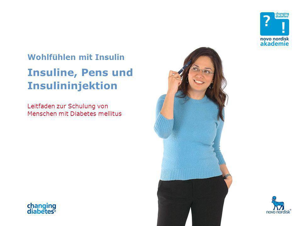 Insuline, Pens und Insulininjektion