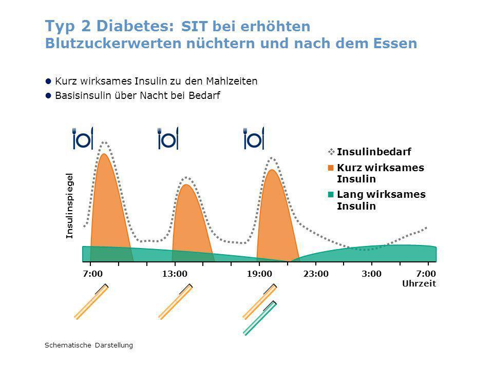 Typ 2 Diabetes: SIT bei erhöhten Blutzuckerwerten nüchtern und nach dem Essen