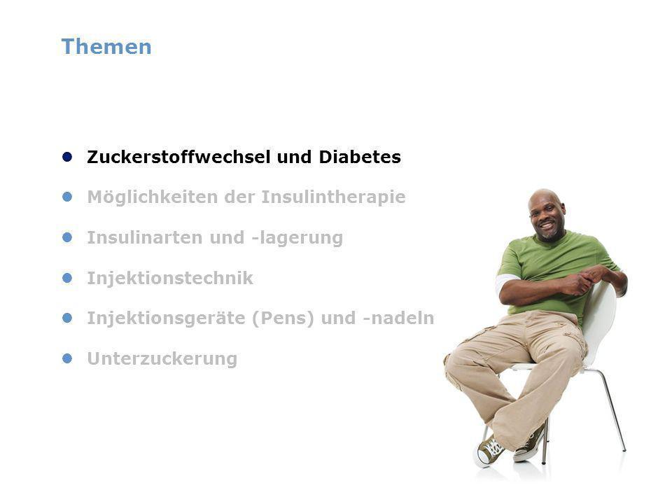 Themen Zuckerstoffwechsel und Diabetes