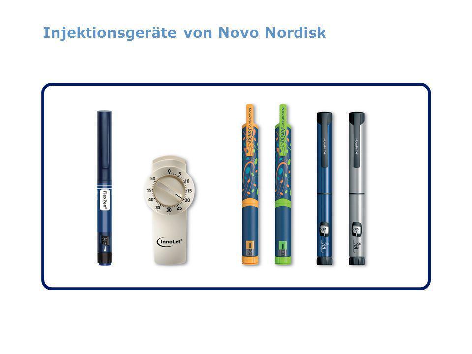 Injektionsgeräte von Novo Nordisk