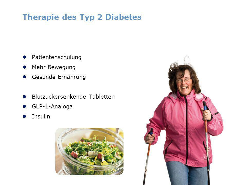 Therapie des Typ 2 Diabetes