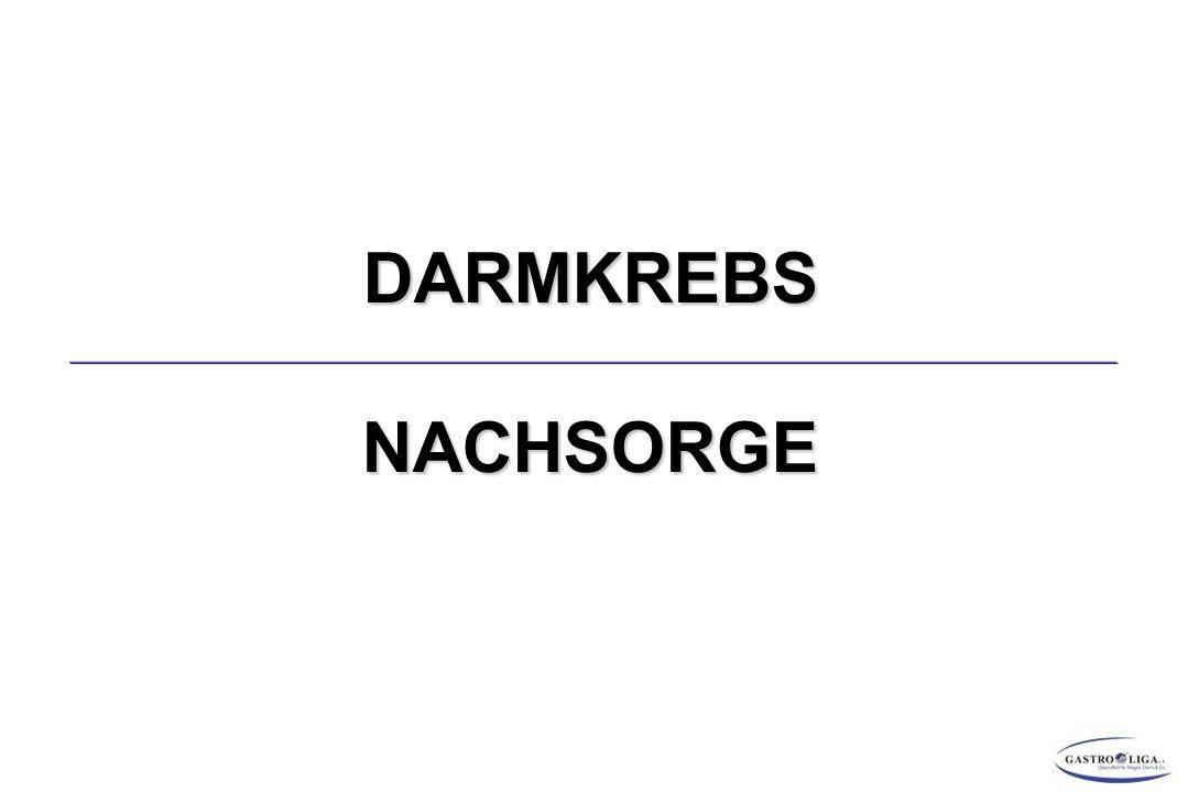 DARMKREBS NACHSORGE