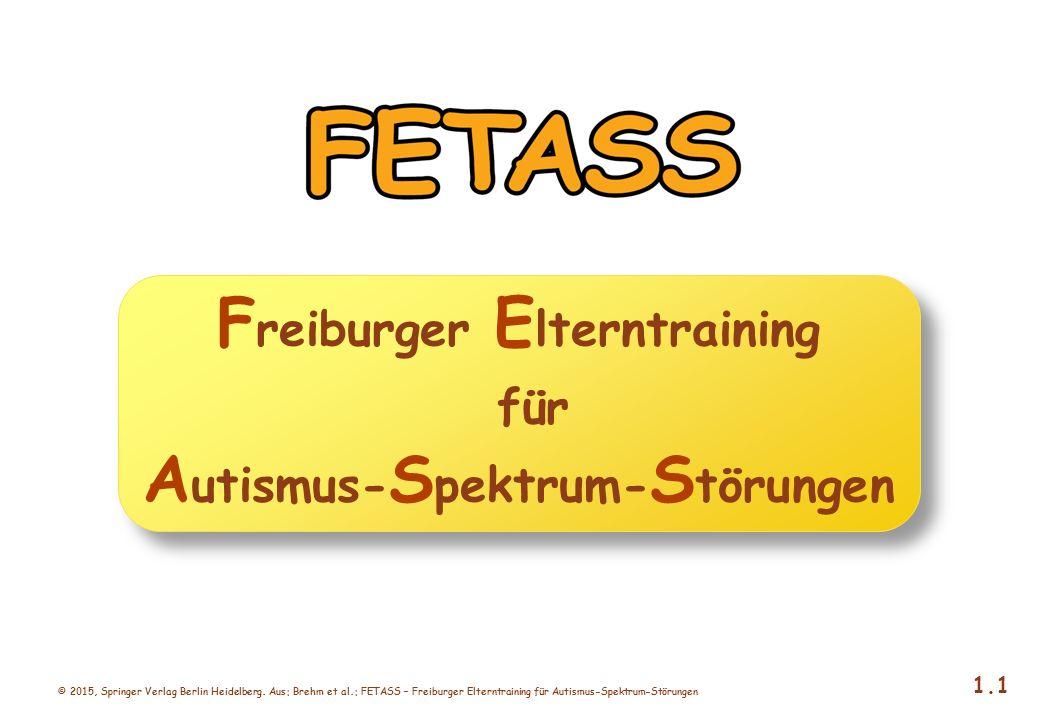 Freiburger Elterntraining für Autismus-Spektrum-Störungen
