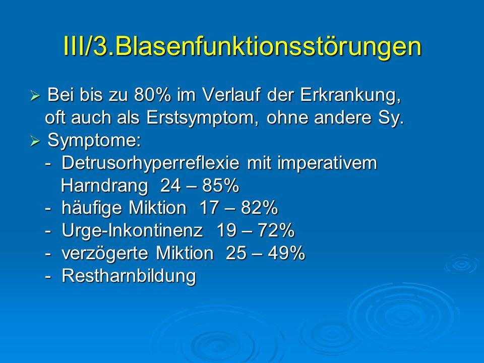 III/3.Blasenfunktionsstörungen
