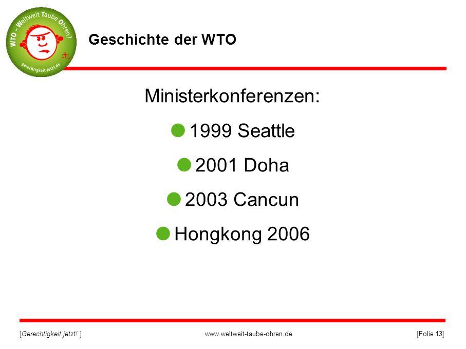 Ministerkonferenzen: