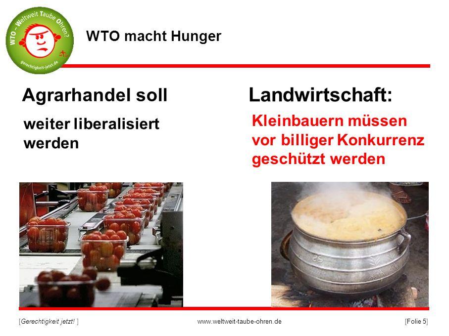 Landwirtschaft: Agrarhandel soll