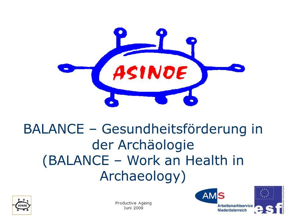 BALANCE – Gesundheitsförderung in der Archäologie