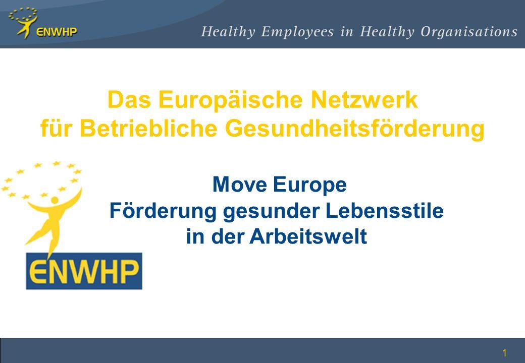 Das Europäische Netzwerk für Betriebliche Gesundheitsförderung
