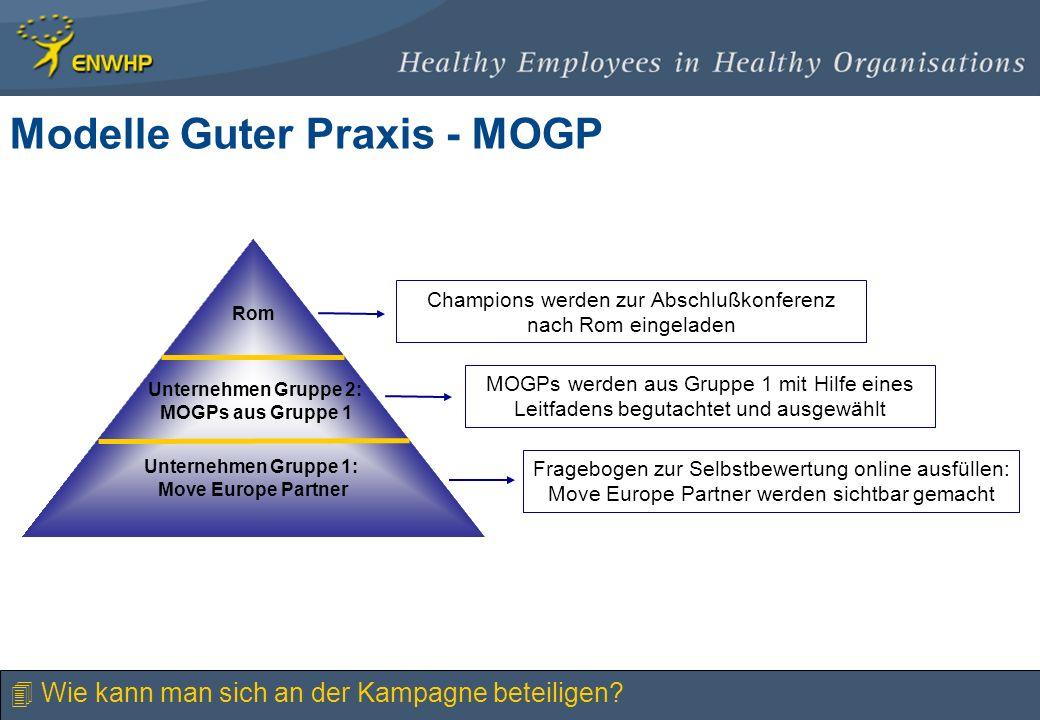 Modelle Guter Praxis - MOGP