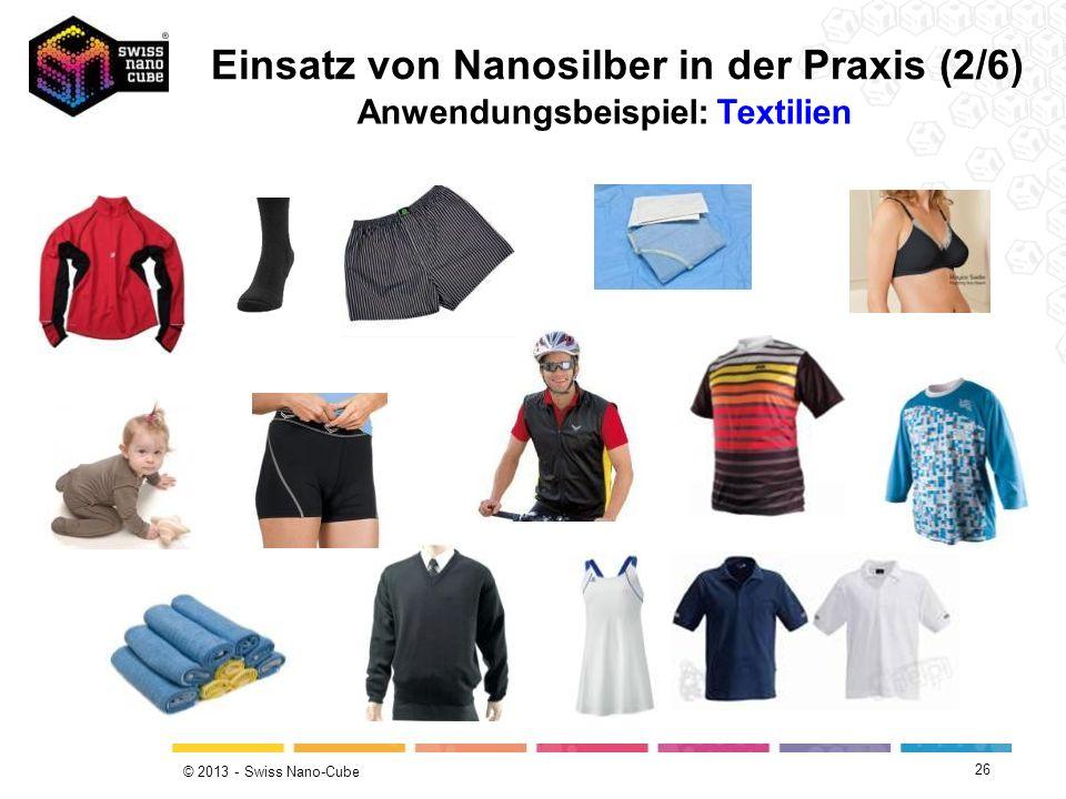 Anwendungsbeispiel: Textilien