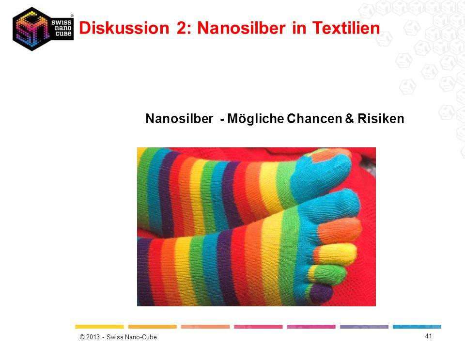 Diskussion 2: Nanosilber in Textilien