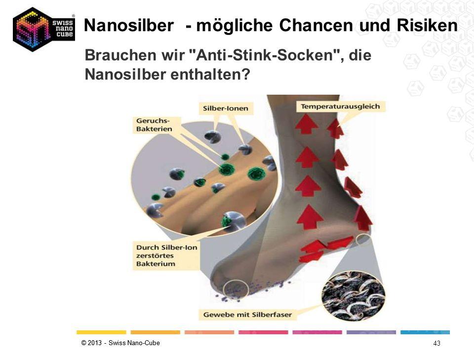 Nanosilber - mögliche Chancen und Risiken