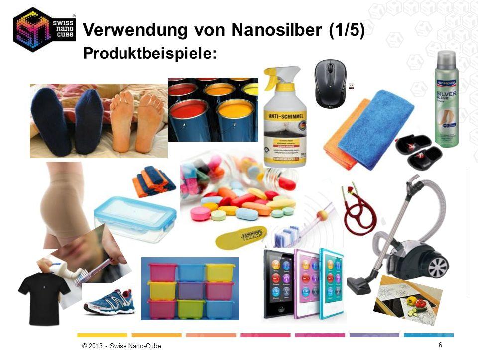 Verwendung von Nanosilber (1/5)
