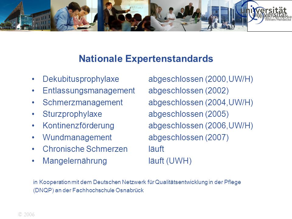 Nationale Expertenstandards