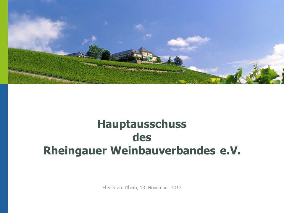 Hauptausschuss des Rheingauer Weinbauverbandes e.V.