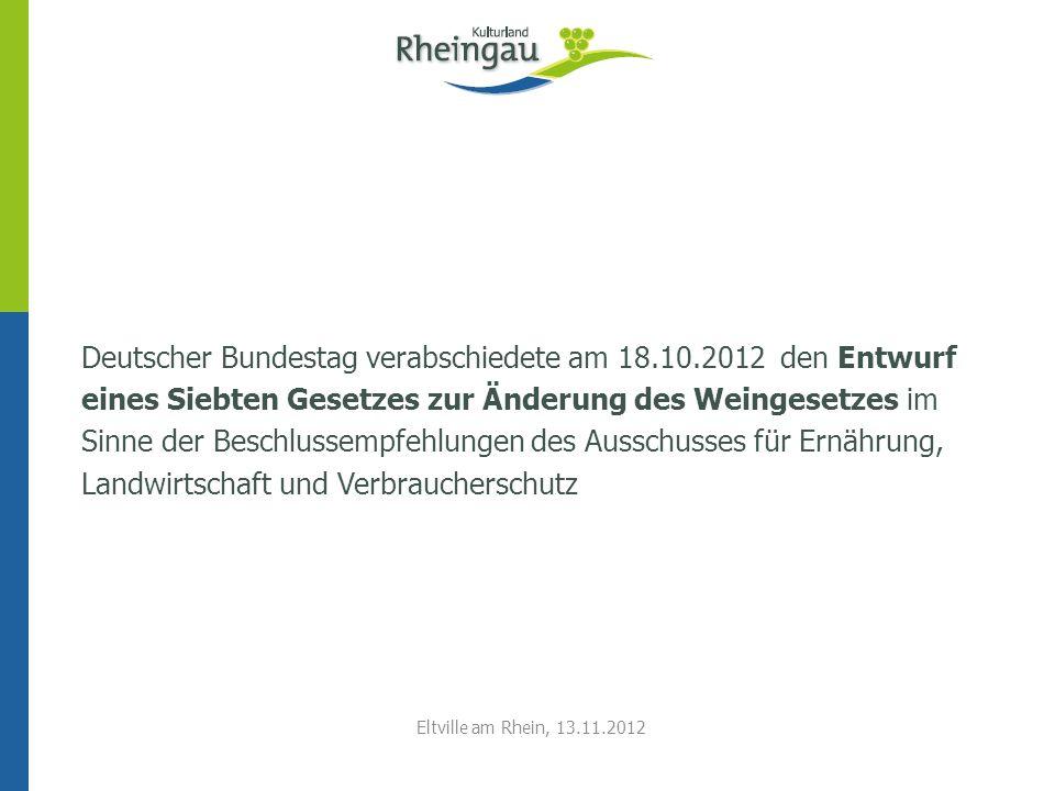Deutscher Bundestag verabschiedete am 18. 10
