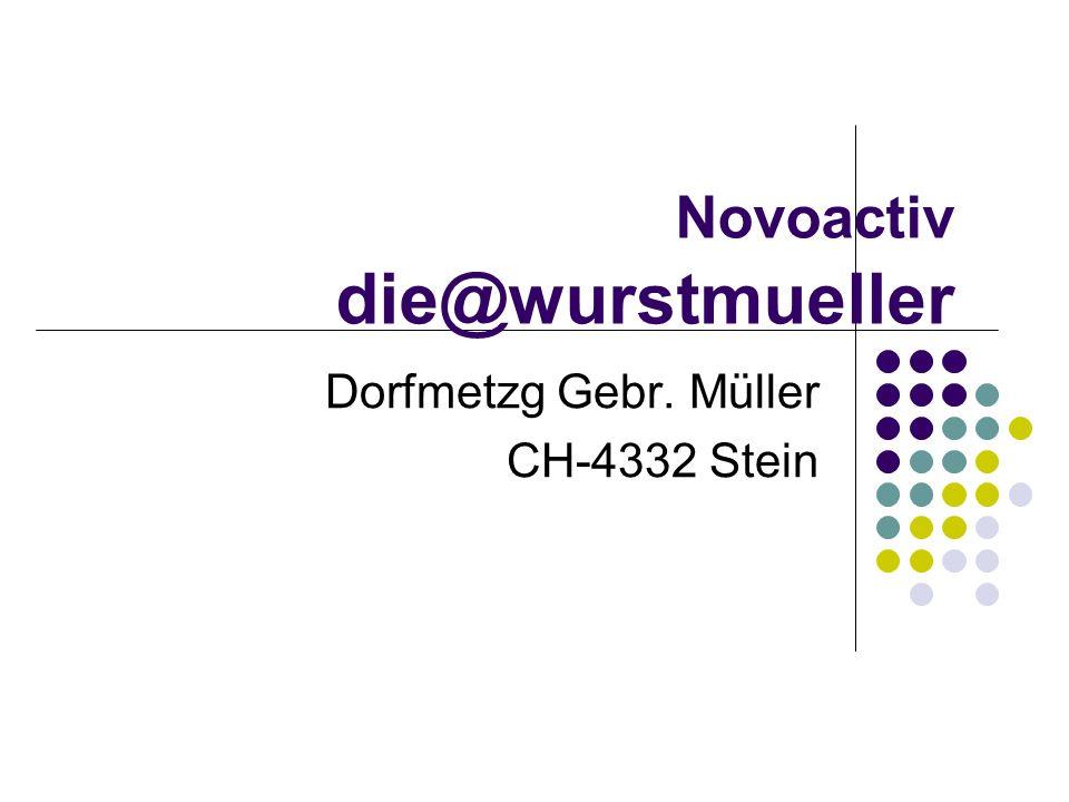 Novoactiv die@wurstmueller