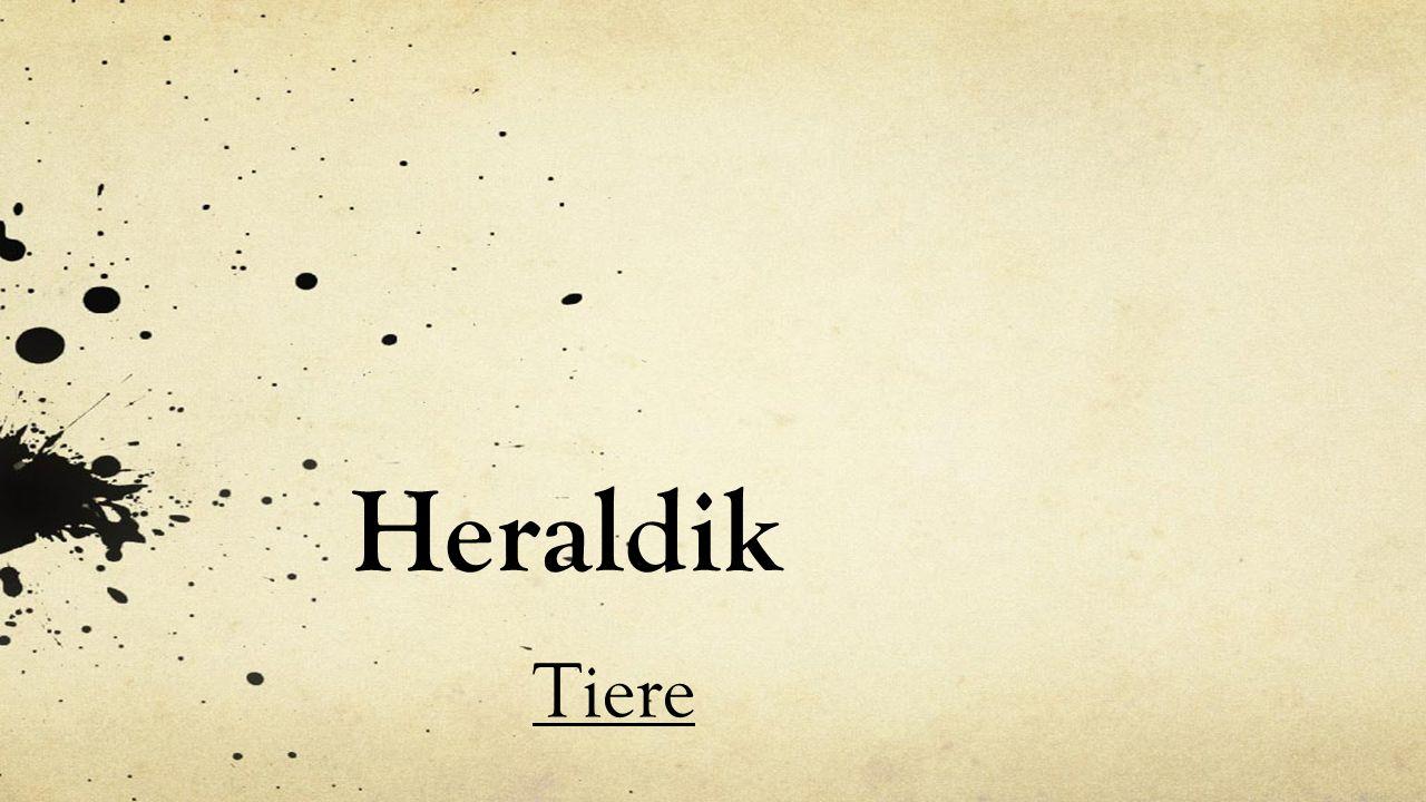 Heraldik Tiere