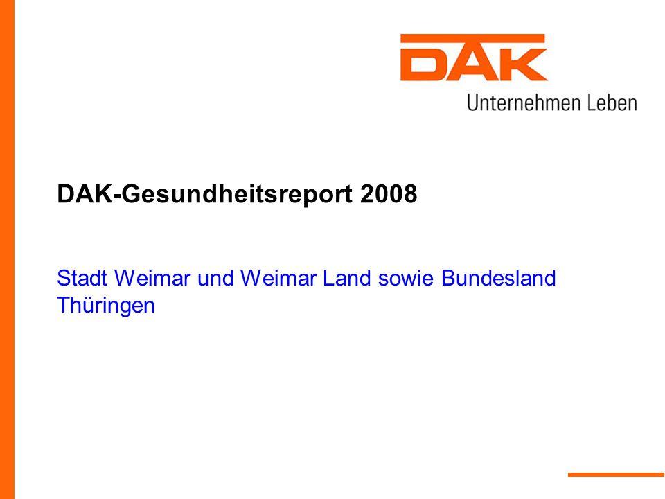 DAK-Gesundheitsreport 2008