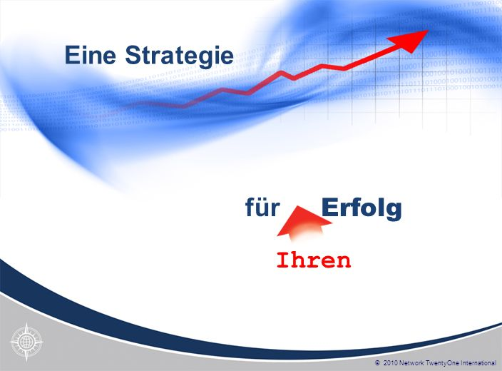 Eine Strategie für Erfolg Ihren