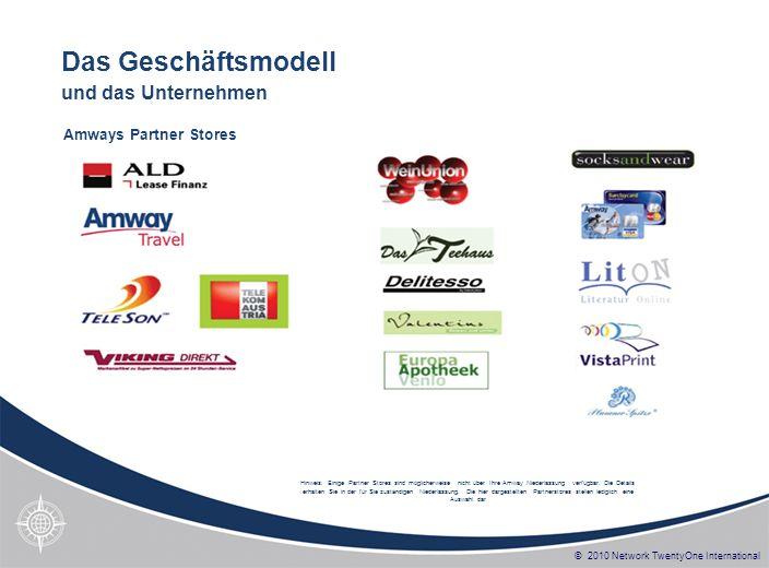 Das Geschäftsmodell und das Unternehmen Amways Partner Stores
