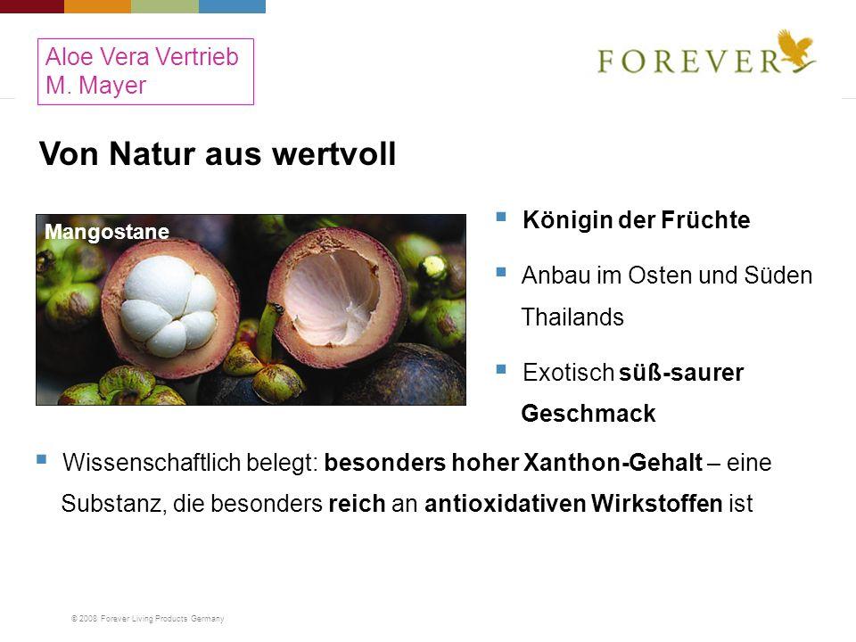 Von Natur aus wertvoll Aloe Vera Vertrieb M. Mayer Königin der Früchte