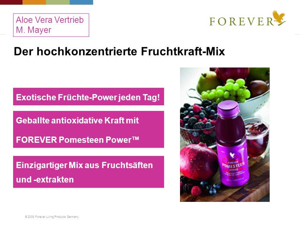 Der hochkonzentrierte Fruchtkraft-Mix