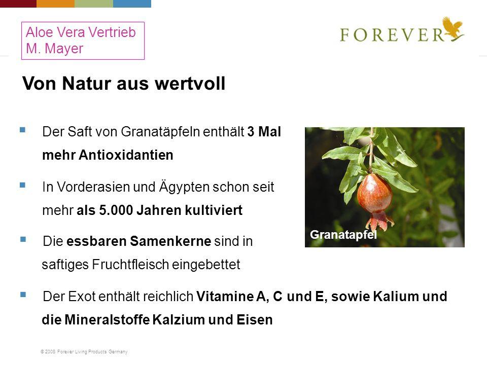 Von Natur aus wertvoll Aloe Vera Vertrieb M. Mayer