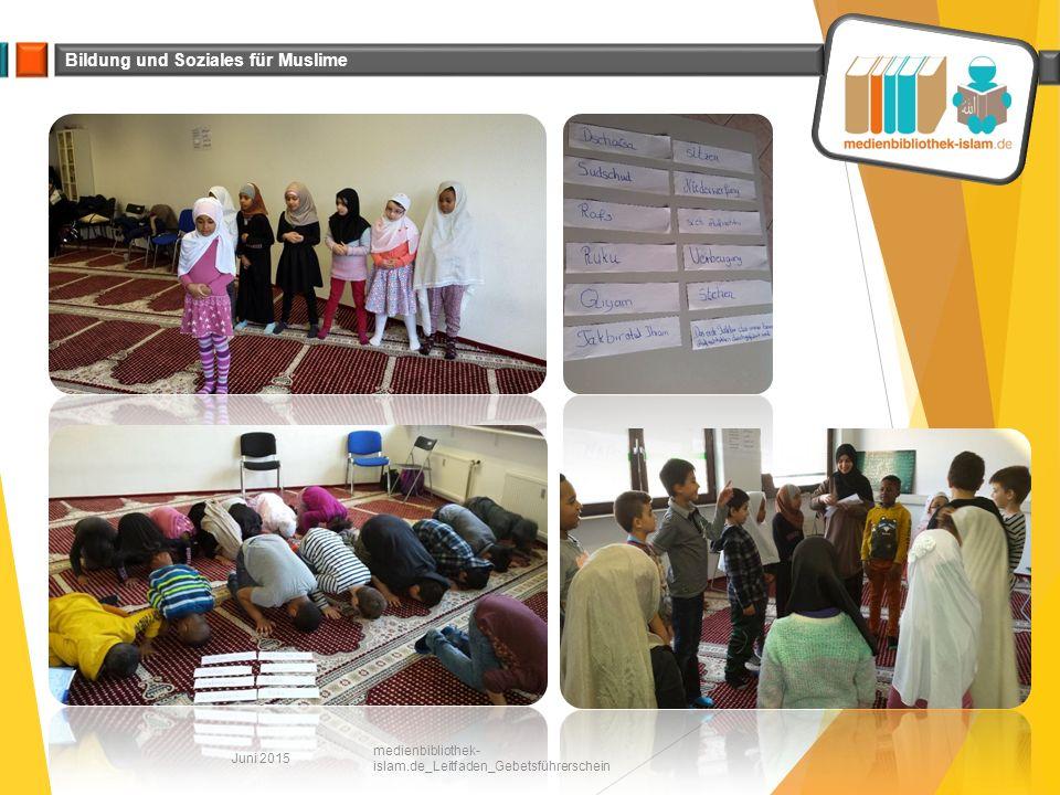 Juni 2015 medienbibliothek-islam.de_Leitfaden_Gebetsführerschein