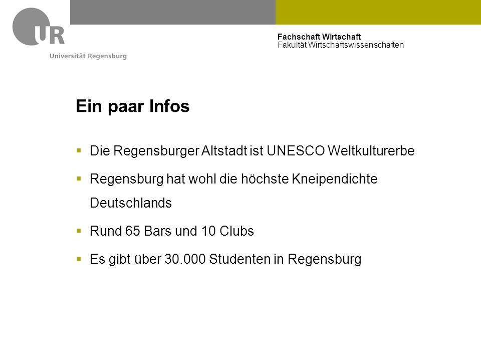 Ein paar Infos Die Regensburger Altstadt ist UNESCO Weltkulturerbe